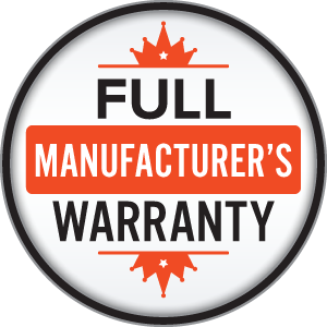 Exclusive fullwarranty